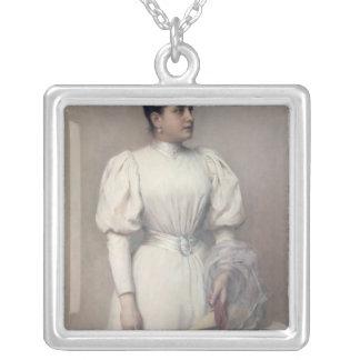 Marie Renard Silverpläterat Halsband
