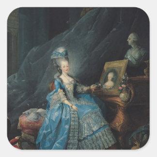 Marie-Therese de Savoie 1775 Fyrkantigt Klistermärke