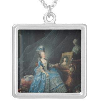 Marie-Therese de Savoie 1775 Silverpläterat Halsband