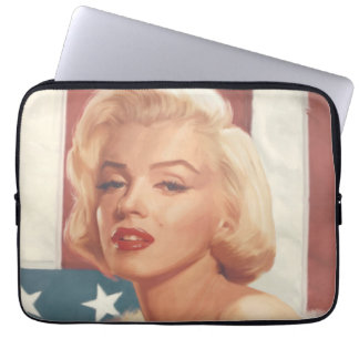 Marilyn flagga laptop sleeve