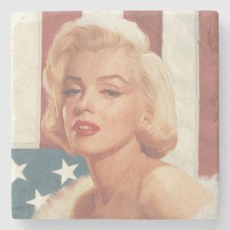Marilyn flagga stenunderlägg