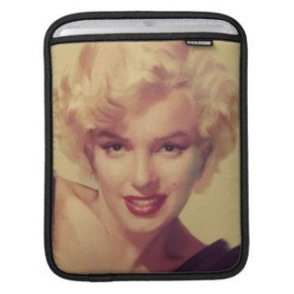 Marilyn i svart iPad sleeve