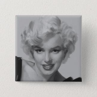 Marilyn looken 2 standard kanpp fyrkantig 5.1 cm