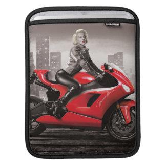 Marilyns motorcykel sleeve för iPads