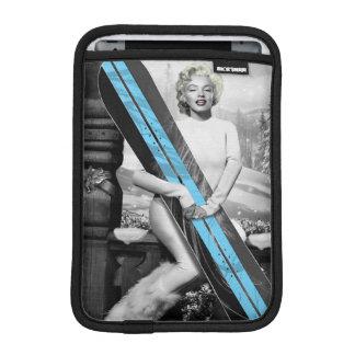 Marilyns Snowboard iPad Mini Sleeve