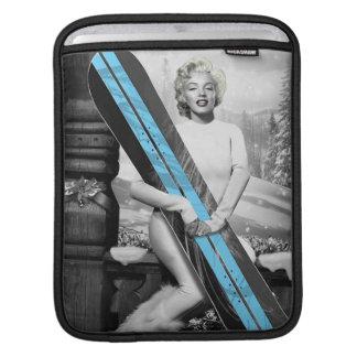 Marilyns Snowboard iPad Sleeve