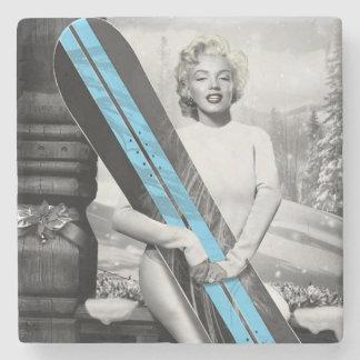 Marilyns Snowboard Underlägg Sten