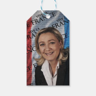 Marin- Le Pen Presentetikett
