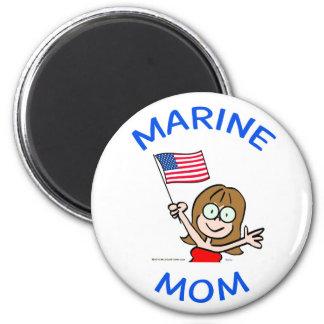 marin- patriotism för mammaflottakår magnet