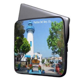 Marina Del Rey laptop sleeve! Laptop Sleeve