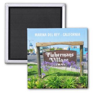 Marina Del Rey magnet! Magnet