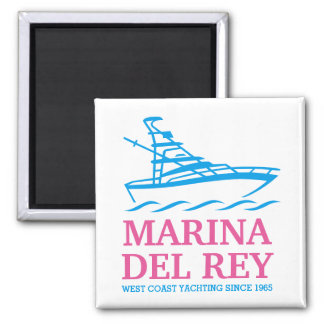 Marina Del Stråle Magnet