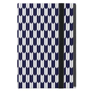 Marinblå & för Yagasuri för vit japanskt iPad för  iPad Mini Fodral