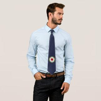 Marinblå slips för Luther ro
