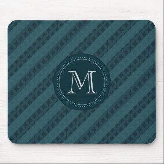 Marinblått attraktivt flott mönster för djup Aqua Musmatta