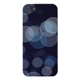 Marinblått Bokeh IPhone 5 fodral