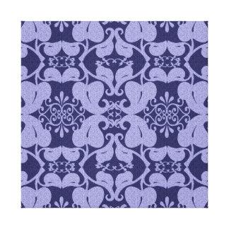 Marinblått ljust - slösa modern kanfasväggkonst canvastryck