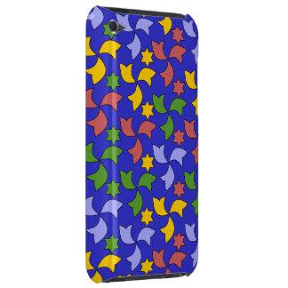 Marinblått spanskt geometriskt mönster - barely there iPod överdrag