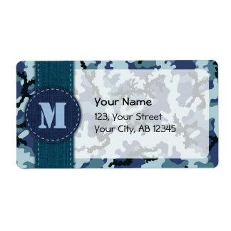 Marinkamouflage Fraktsedel