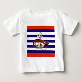 Maritim chic begynna T-tröja Tshirts