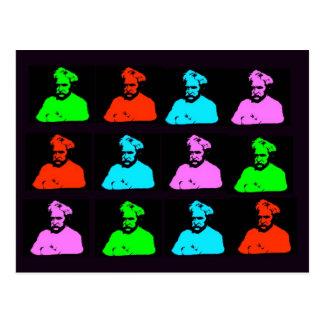 Mark Twain Collage Vykort