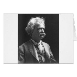 Mark Twain foto Hälsningskort