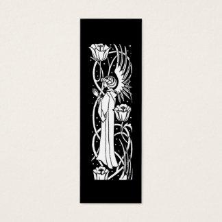 Markerar den blom- boken för den Beardsley ängeln Litet Visitkort