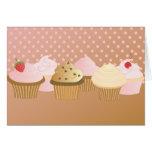 Märkes- muffins kort