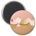 märkes- muffins kylskåps magneter