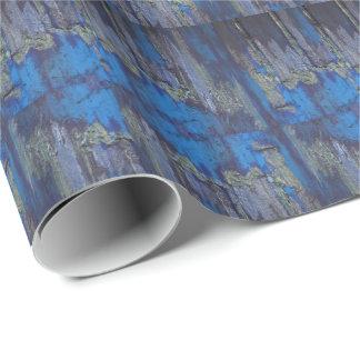 Märkes- slående in papper för blåttStalagmites Presentpapper