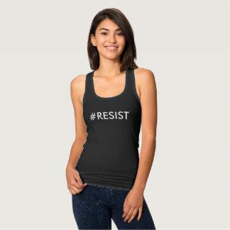 Märkes- tank för #RESIST