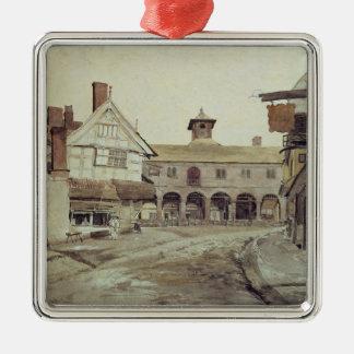 Marknadsföra stället, Hereford, 1803 Julgransprydnad Metall