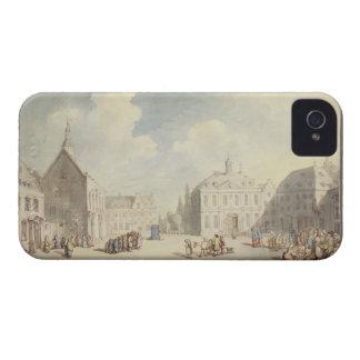Marknadsförastället på Juliers i Westphalia, 1791 iPhone 4 Case-Mate Skal