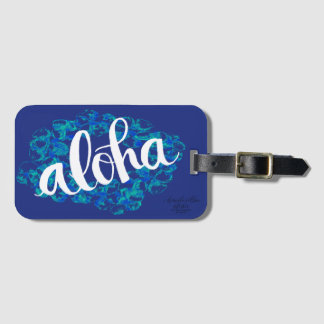 Märkre för blåttHawaii Aloha bagage Bagagebricka