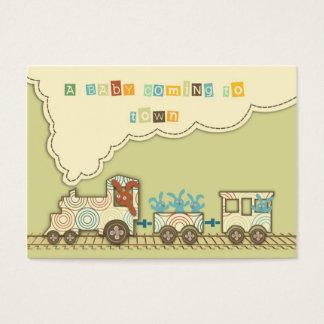 Märkre för Choo Choo tåggåva Visitkort