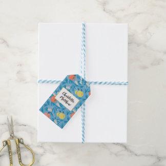 Märkre för gåva för bröllop för marin Apple för Presentetikett