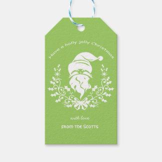 Märkre för gåva för helgdag för presentetikett
