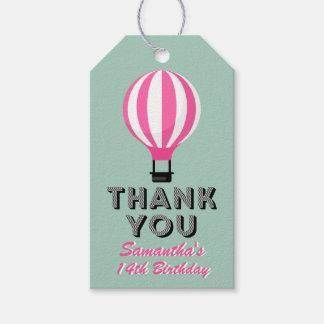 Märkre för gåva för tack för Paris Presentetikett