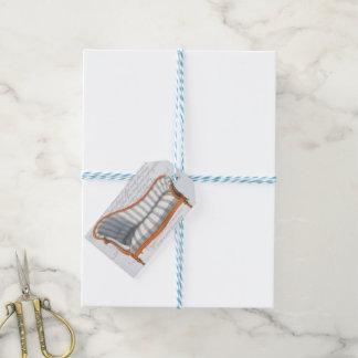 Märkre för gåva för vardagsrum för Chaise för Presentetikett