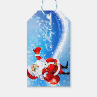 Märkre för god julSanta beställnings- gåva Presentetikett