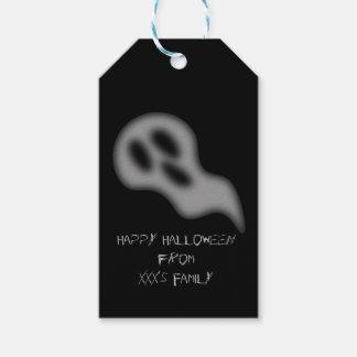 Märkre för Halloween spökegåva Presentetikett