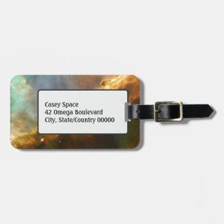 Märkre för resväska för Omega Nebulabagage Bagagebricka