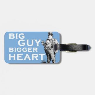 """Märkre för resväska för större """"hjärta för stor gr bagagebricka"""