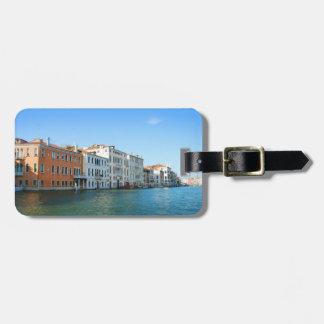 Märkre för Venedig Gran kanalbagage Bagagebricka