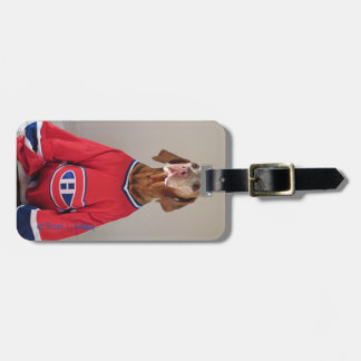 Märkre för Vizsla Montreal kanadensarebagage Bagagebricka