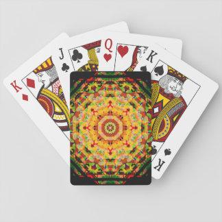 Marley färgar mandalaen casinokort