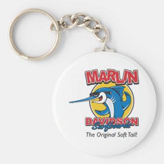 Marlin Davidson original Rund Nyckelring