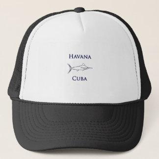Marlin för Havana Kubablått Keps