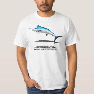Marlinfiske är lyckan tshirts