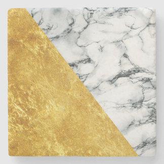 Marmor + Guld- stenkustfartyg Stenunderlägg